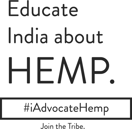 Educate India about Hemp. #iadvocatehemp . Join the tribe.