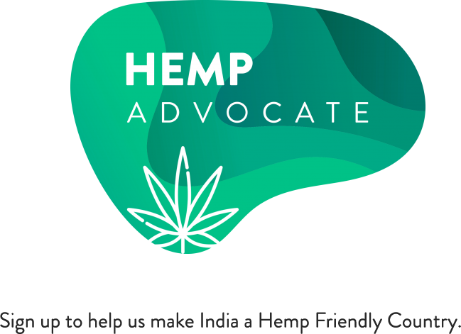 Hemp Advocate Badge _ Sign up to help us make India a Hemp Friendly Country