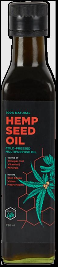 Boheco Life Hemp Seed Oil on Its Hemp