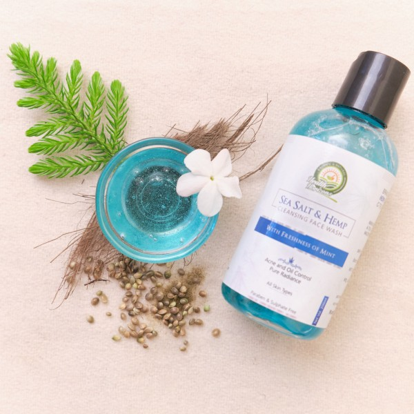 Sustainable Living Hemp Face Wash
