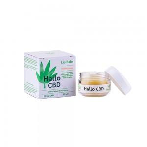 CBD Lip Balm on Its Hemp