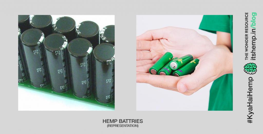 Hemp for energy storage