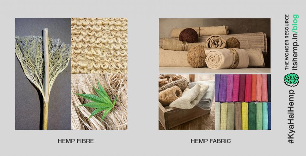Hemp fibre and fabric
