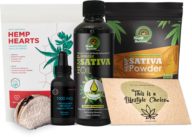 HEMP PRODUCTS STARTER KIT ITS HEMP