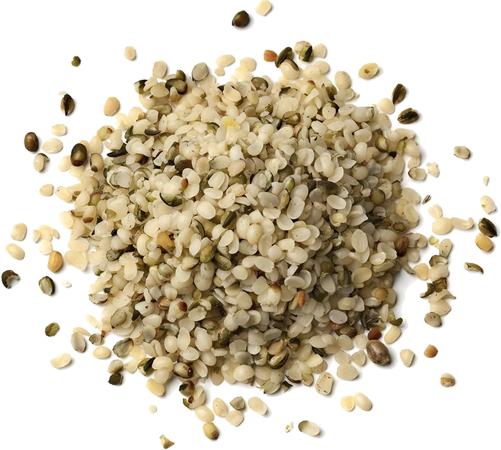Hemp Hearts and Seeds on Its Hemp