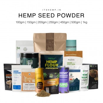 Hemp seed powder on itshemp
