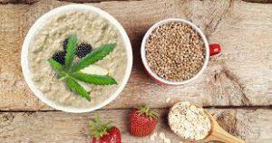 Hemp Powder Porridge or Hemp Dalia Recipe on Its Hemp