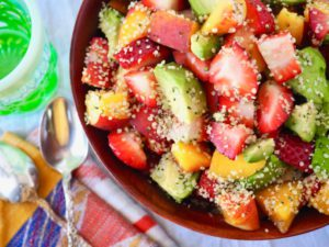 Hemp Hearts Salad Recipe on Its Hemp