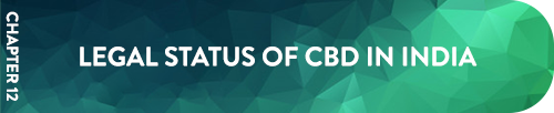 Chapter 12 Legal Status of CBD in India