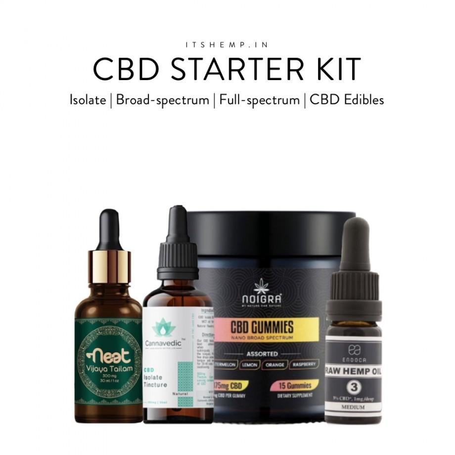 CBD Starter Kit on Its Hemp