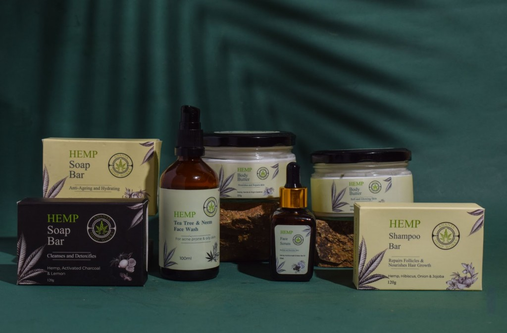 Ananta's Hemp Personal Care Products