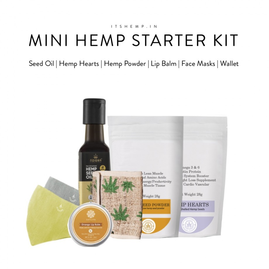 Mini Hemp Starter Kit On Its Hemp