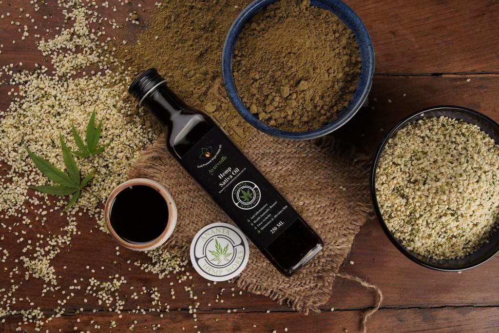 Buy Ananta Hemp Seed oil in India